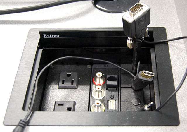 Extron Cable Cubby 600 : Technology equipped room listing