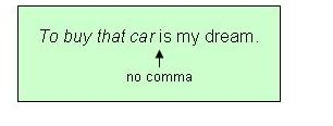how to end teh sentence with etc