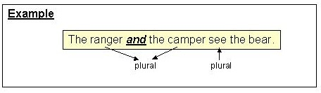 Modulesvagr9g this sentence makes use of a compound subject two subject nouns joined by and illustrating a new rule about subject verb agreement platinumwayz