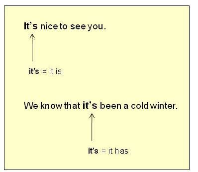 More Punctuation